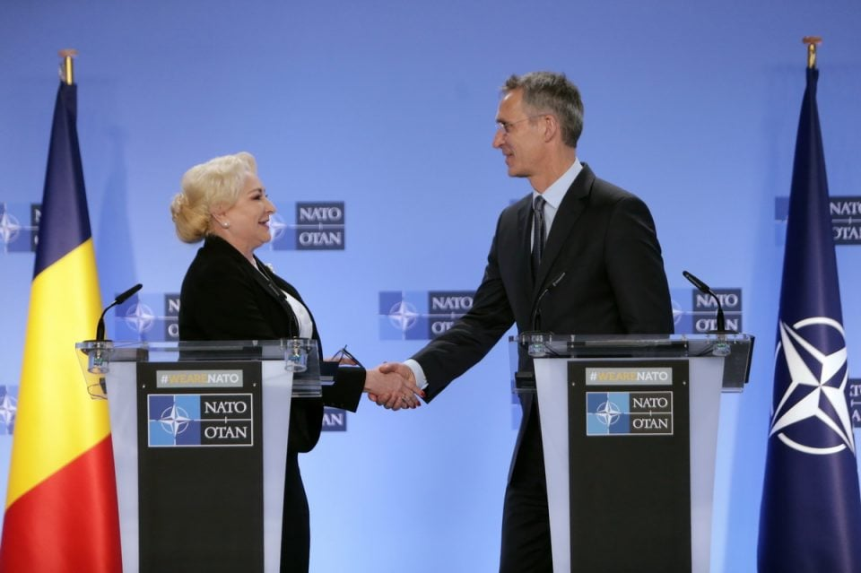 Jens Stoltenberg in Romania